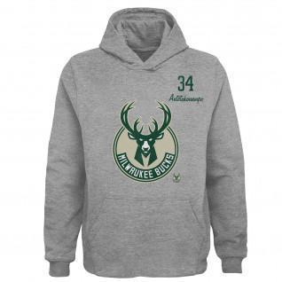 Hoodie enfant Outerstuff  Player NBA Milwaukee Bucks