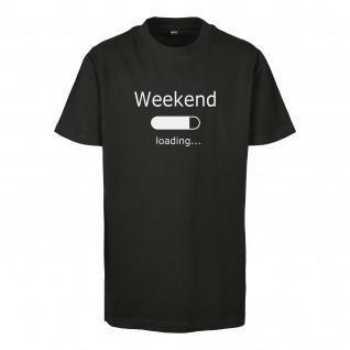 Kinder-T-shirt Urban Classics weekend loading 2.0